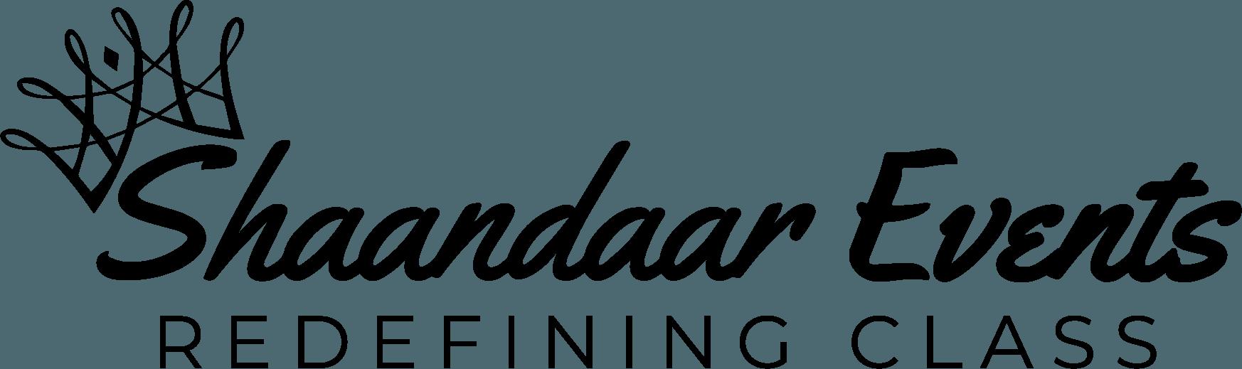 shaandaar events logo black