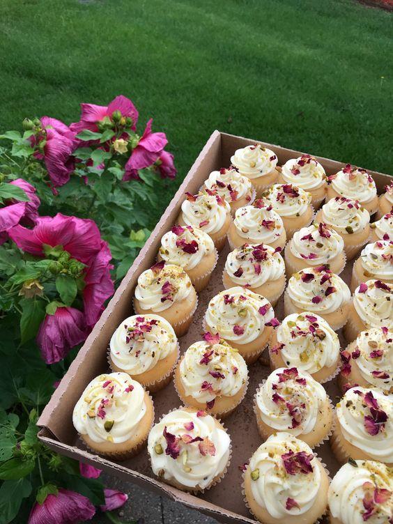 wedding return gift home baked cupcakes