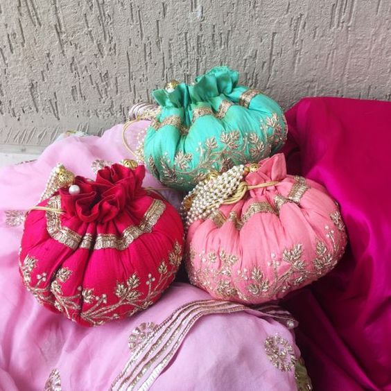 embroided coin pouches best wedding return gift