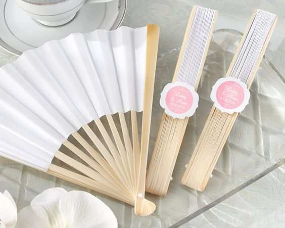 handfan as return gifts for guests
