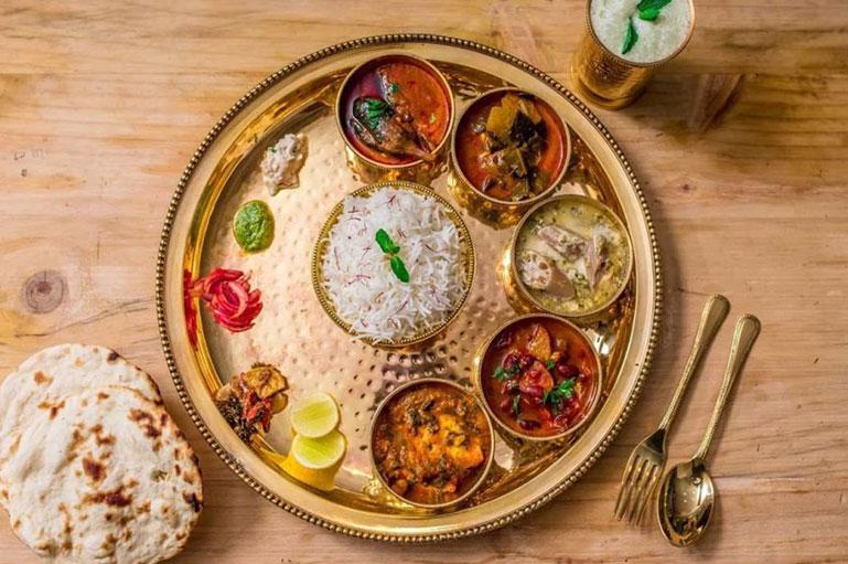 Kashmiri wedding menu