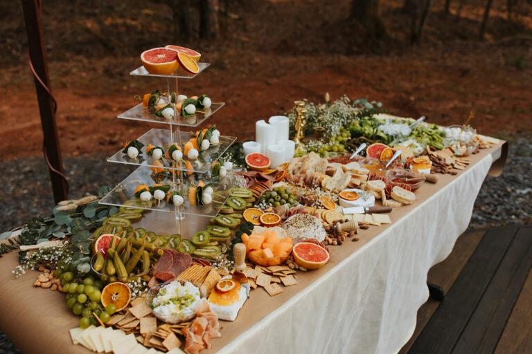 best wedding menu